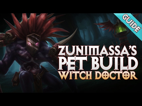 Repeat 2 6 4 Witch Doctor Spirit Barrage Build - Diablo 3