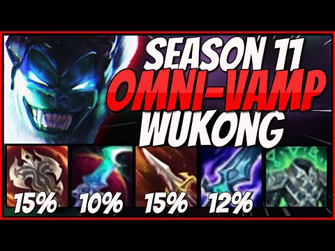 DRACULA Is A JOKE Compared To OMNIVAMP WUKONG!! | S11 Items Turn WUKONG Into A LIFESTEALING MONSTER!