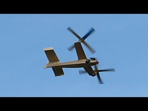 RC Gyroplane Gyrocopter Auto-Gyro Oldtimer Twin Twirl , Flight  Demonstration *HD*