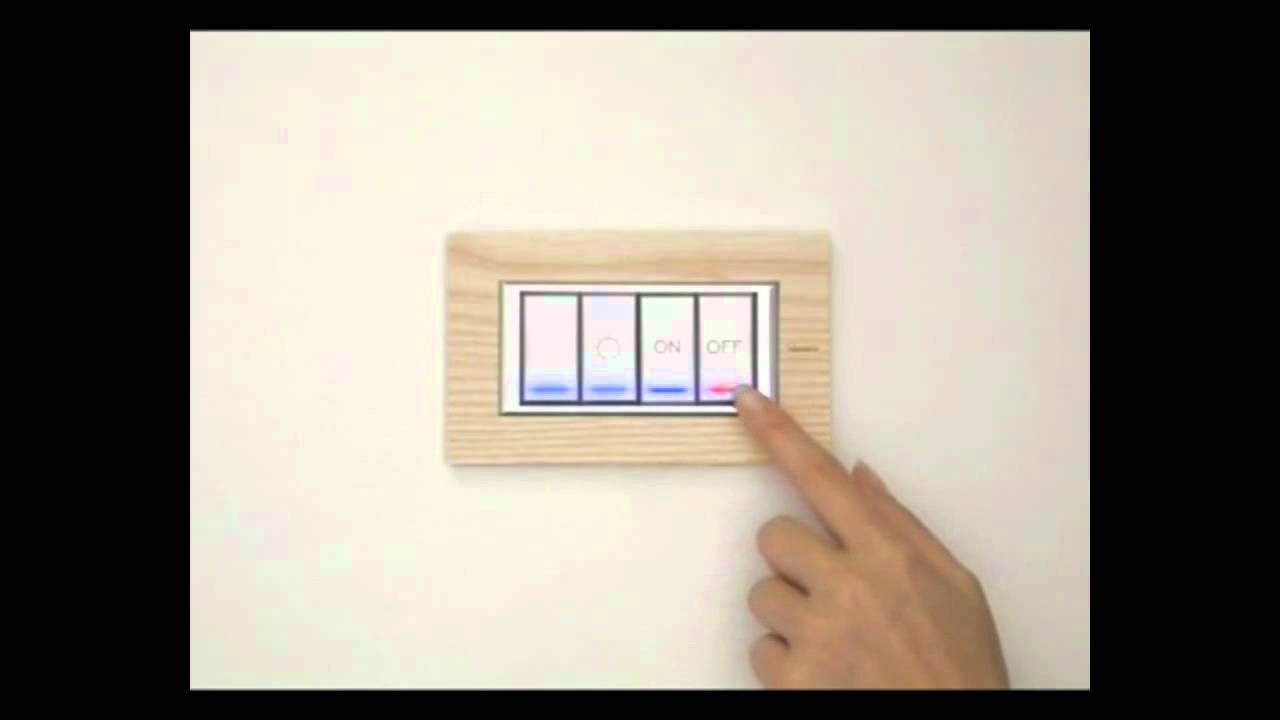 Bticino Smart Switches for Smart Home Automation Systems - YouTube