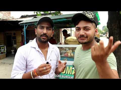 Ashok Kumar Famous Kulche Choley Just In Rs 7 || Nangal Dam|| Punjab || India