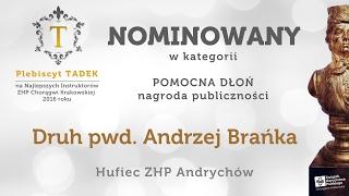 POMOCNA DŁOŃ pwd. Andrzej Brańka Plebiscyt TADEK 2016