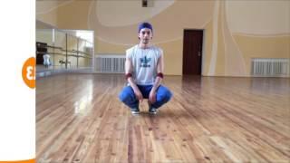 Научиться танцевать брейк данс дома. 13 Footwork - видео № 3