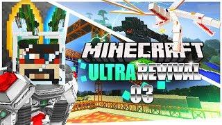 Minecraft: Ultra Modded Revival Ep. 3 - TORNADO PROBLEMS