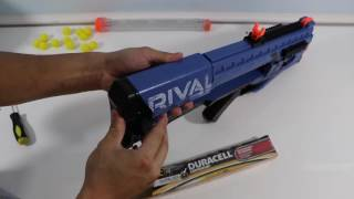 Nerf Rival Zeus MXV-1200 Unboxing, Assembly, Review