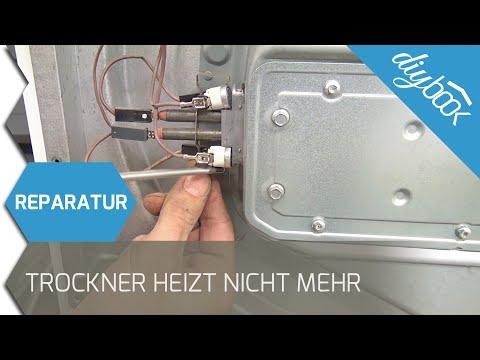 Beliebt Trockner heizt nicht mehr - Thermostate wechseln (Bauknecht IJ21