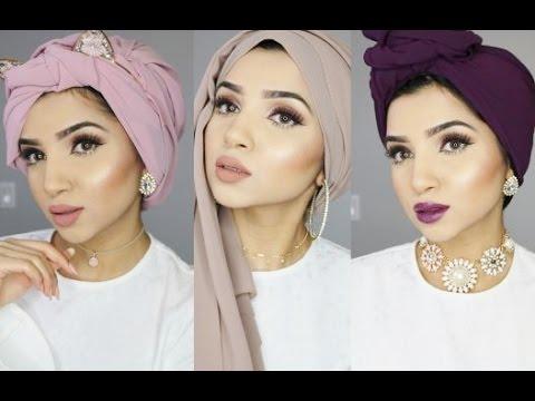 3 Trendy Turban Hijab Styles Saimascorner Youtube