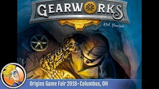 Gearworks — game preview at Origins 2018