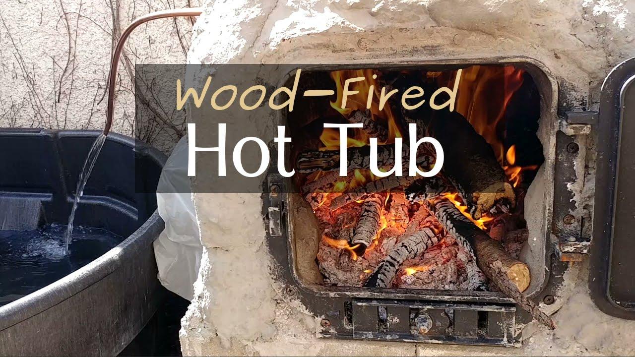 Wood-Fired Hot Tub - Final Test