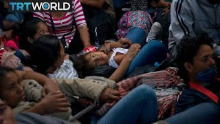 From youtube.com: US Migrant Caravan, From Images