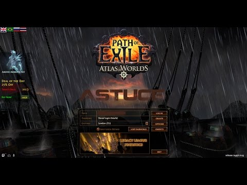 Path Of Exil FR - Astuce - Les 36 challenges Legacy