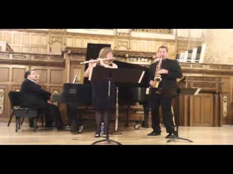 Trio #1 for Flute, Alto Sax and Piano, by Russell Peterson