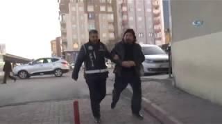 Kayseri'de Kaçak Kazı Yapan Şahıs:
