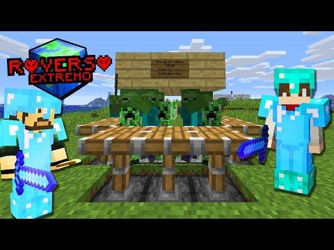 LA MEJOR TRAMPA DE MINECRAFT   Minecraft ROVERSO EXTREMO   Episodio 28 thumbnail