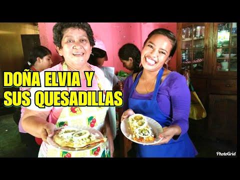 Las Quesadillas Mexicanas Más ricas Hecho En Guatemala| Doña Elvia Chef Internacional