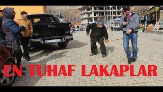"""ÜLKEMİZİN EN GARİP """"LAKAPLARI"""" (sokak röportajı)"""