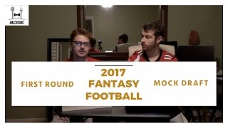 2017 Fantasy Football Mock Draft - Round 1