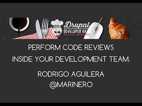DDD2015 - Perform code reviews inside your development team - Rodrigo Aguilera
