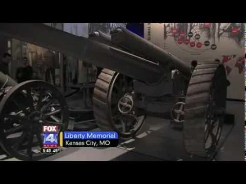 WDAF: Senator Blunt Visits WWI Museum In Kansas City 1/16/13