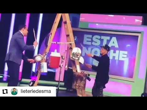 """Yulien Oviedo y Lieter Ledesma improvisan  """"con una lata y un palo"""""""