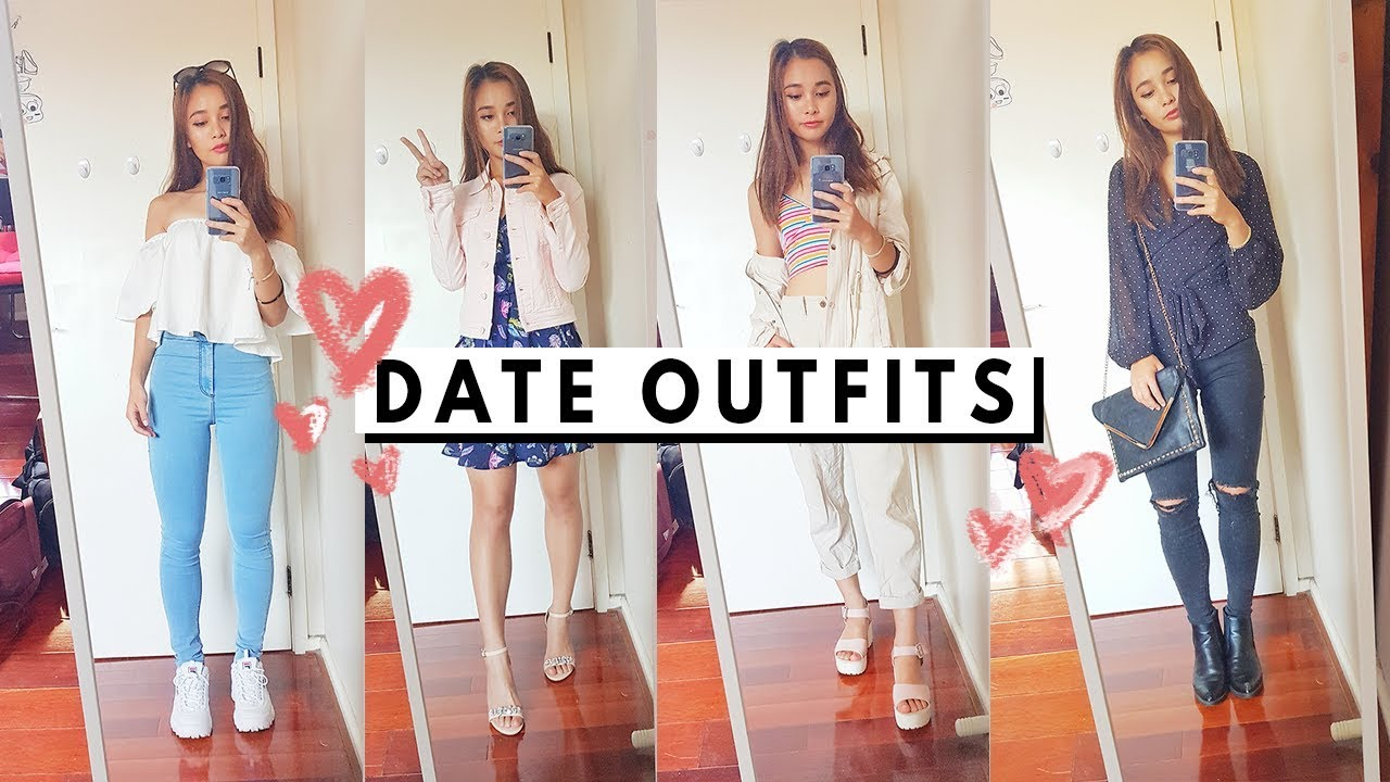 [VIDEO] - Super cute first date outfit ideas! | Fashion lookbook 1