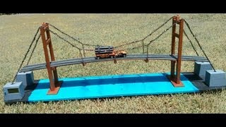 This is a school science project Suspension Bridges. It was selected to represent my school for district science fair. We made it from