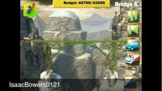 Bridge Constructor Walkthrough: The Ridge Bridge 6