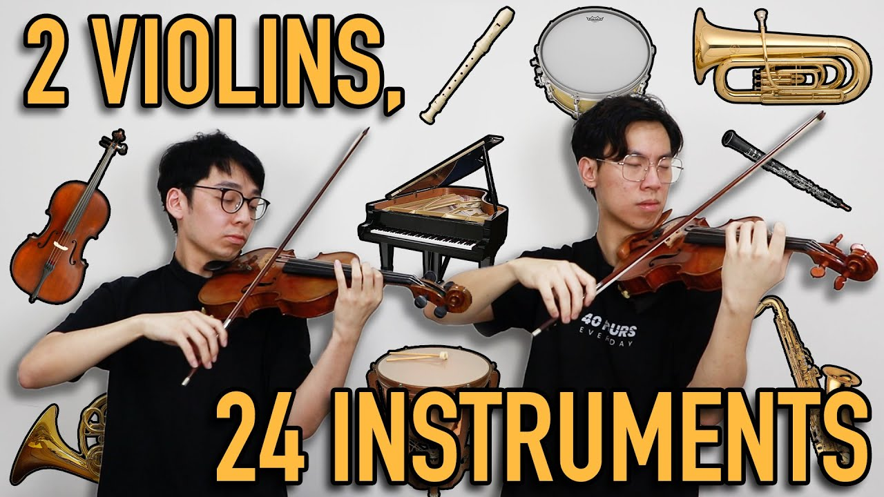 24 Instrument Solos on the Violin