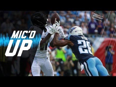 "Logan Ryan Mic'd Up vs. Ravens ""I Got to Handle Maclin!"" | NFL Sound FX"