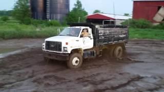 Dump Truck Mudding