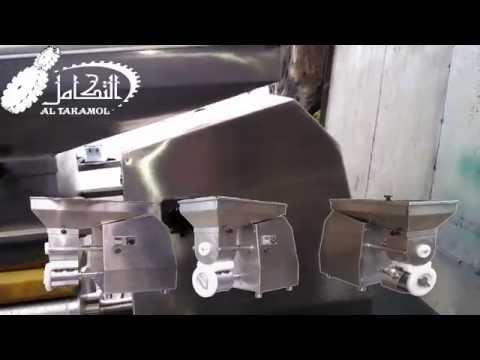 Falafel  Maker ألة صناعة أقراص الفلافل (الطعمية - الباجية ) الألية  Semi Automatic Falafel Maker