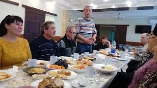 Поминальный обед сразу после погребения
