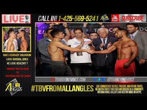 TBV From All Angles: Gennady Golovkin vs. Kell Brook Weigh-In Results, GGG Sick?