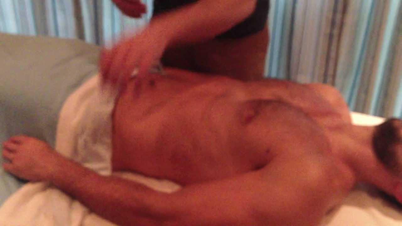 Sensual massage by male