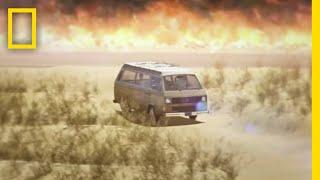 野火に遭遇したとき、最も効果的な対処法は? |ナショジオ