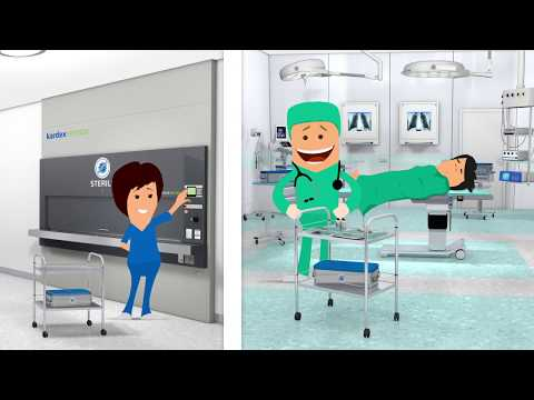 Save Up To 90% Space By Automating Your Hospital Logistics Processes | Kardex Remstar