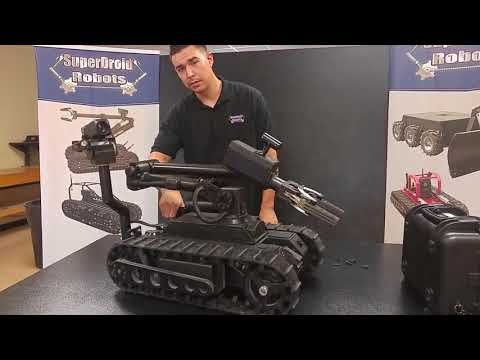 """LT2-F """"Bulldog"""" Tactical Robot With 6-Axis Arm"""