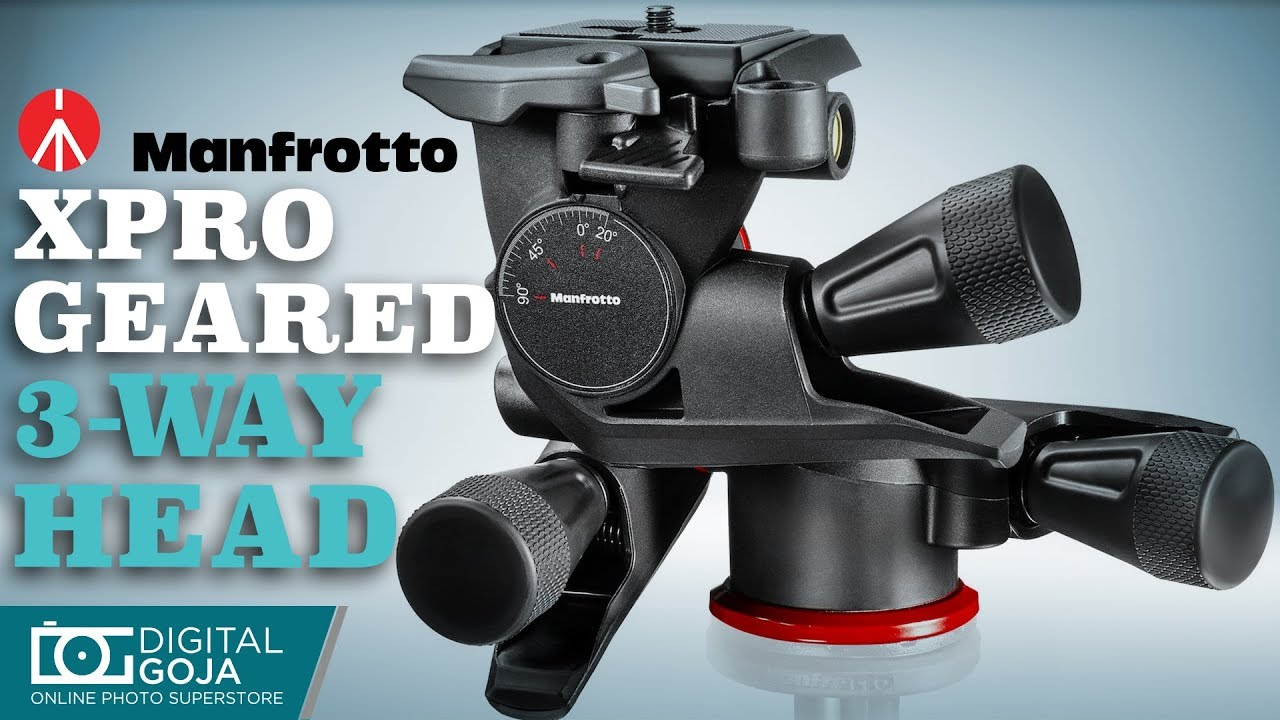23e610dfbd8 Manfrotto XPRO Geared 3 Way Head | Overview - YouTube