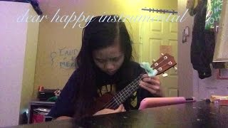 dear happy ukulele instrumental/karaoke :))