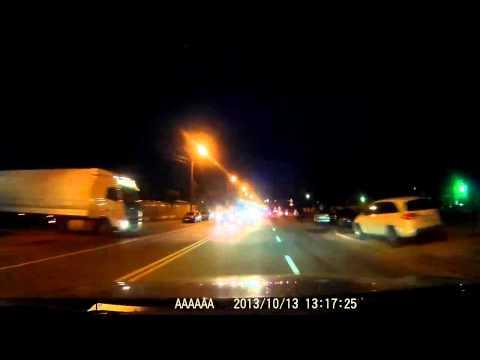 Globex GU-DVF007 видео, ночная съемка