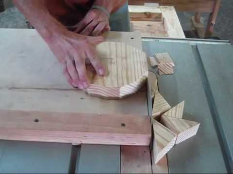 Cutting A Circle With A Table Saw Youtube