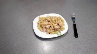 Рецепт Паста с Лососем и сыром Дорблю - видео-рецепт макарон с рыбой и сыром с плесенью