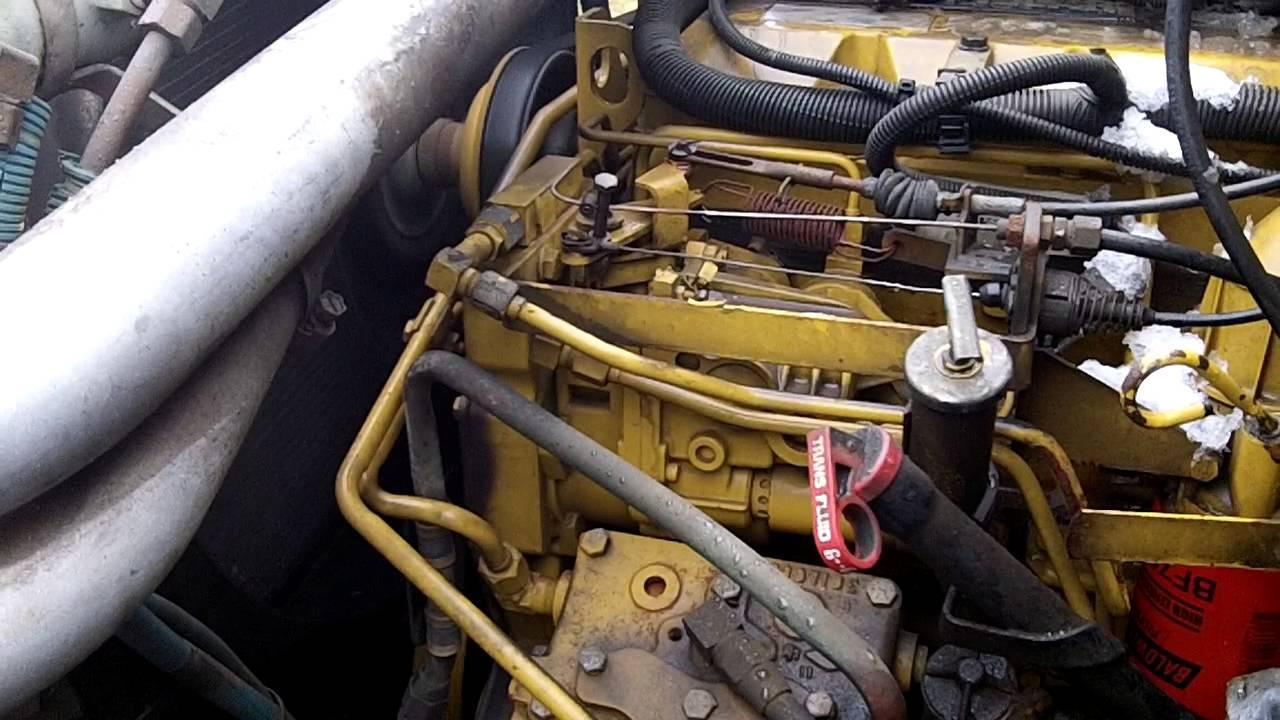 fire pump wiring diagram 97 jeep tj radio 1993 gmc topkick c7500 - youtube