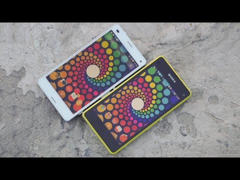 Сравнение Sony Xperia Z3 Compact и Sony Xperia Z1 Compact