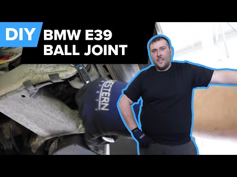 BMW E39 Wheel Carrier Ball Joint Replacement (Rear Sway Bar End Link, Integral Link) FCP Euro
