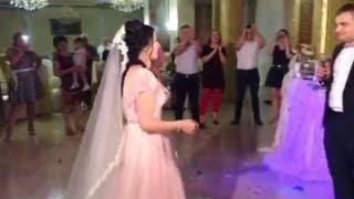 """Жених красиво спел мою песню  для невесты """"Хрустальная любовь"""" на слова Валерия Ларгина"""