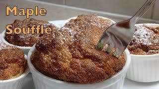 Maple Souffle 2 ingredient recipe cheekyricho