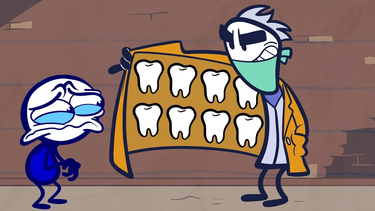 Pencilmate Meets The Dastardly Dentist! watch and download videoi make live statistics