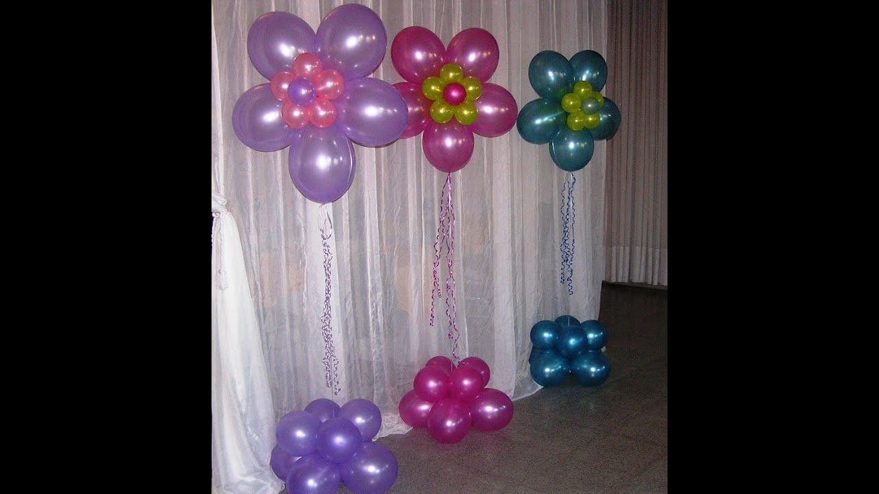 Globos con helio para fiestas youtube - Globos para fiesta ...