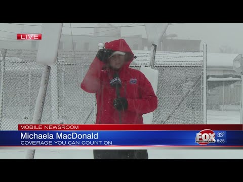 March 13 storm conditions: New Bedford